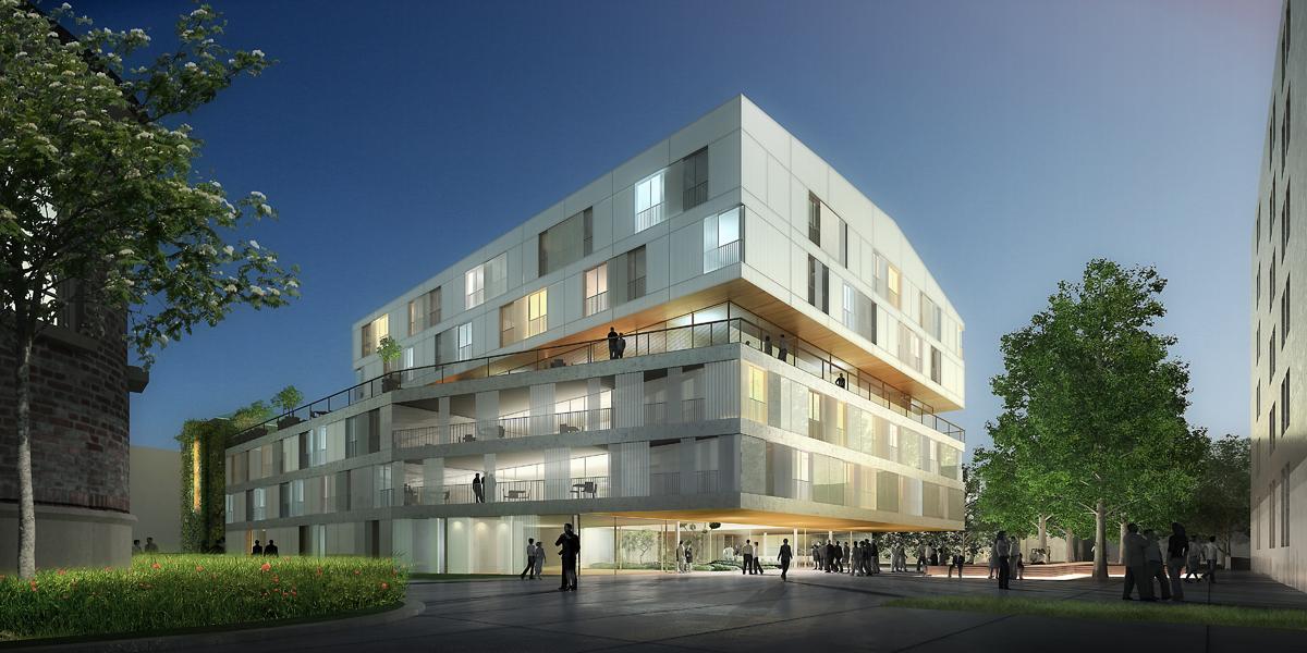 Association Notre Dame De Bon Secours Un Projet Moderne Inscrit Dans Son Poque Architecture