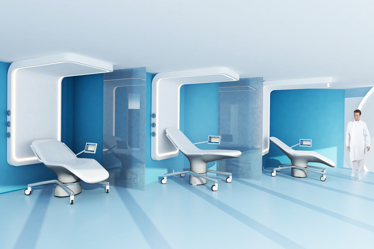Concept room opus 2 le service ambulatoire de demain for Pas de chambre 13 hopital