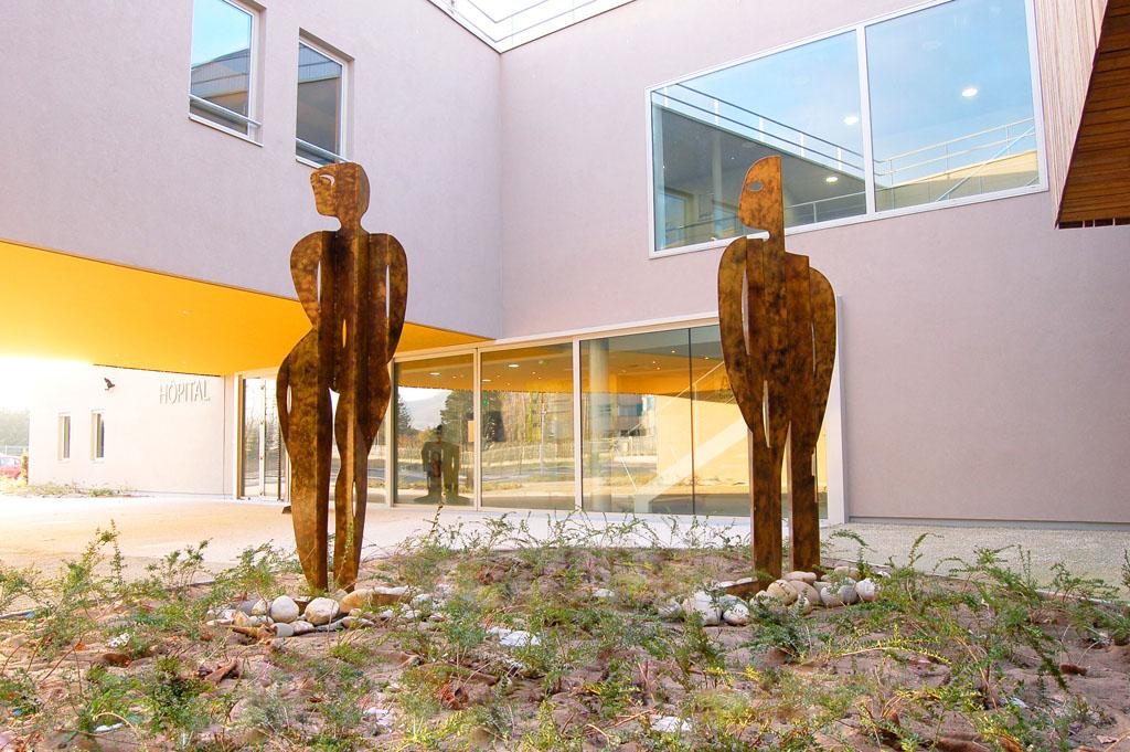 centre hospitalier de crest un nouvel hpital moderne confortable et co responsable - Hapital Moderne
